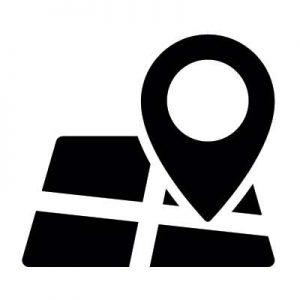 mapa, ubicación