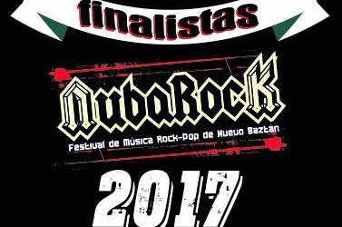 Finalistas NubaRocK 2017