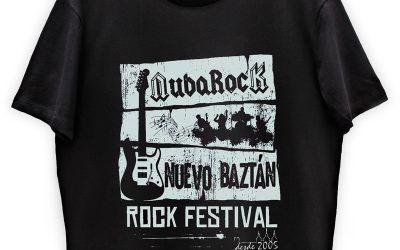 Consigue la camiseta del NubaRocK