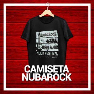 Camiseta Festival NubaRocK 2018