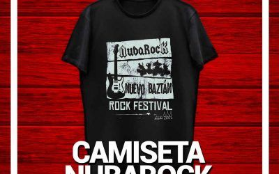 Consigue tu camiseta del NubaRocken 15 segundos