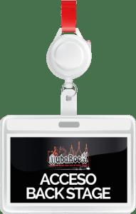 Acceso BackStage NubaRocK