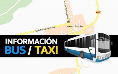 Información Bus / Taxi para el NubaRocK
