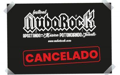 Cancelación Festival NubaRocK 2021